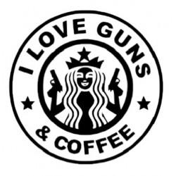 I LOVE GUNS & COFFEE